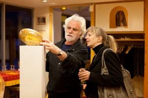 Exposition des sculptures de Pierre Laurent